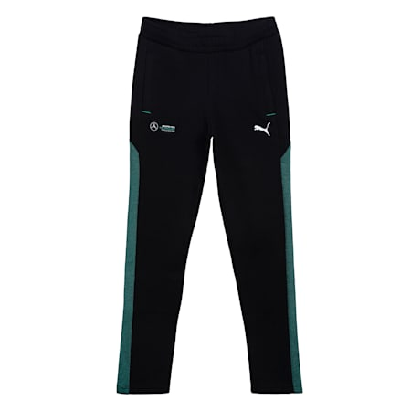 Mercedes Unisex Kids Sweat Pants, Puma Black, small-IND