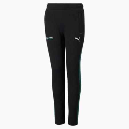 Mercedes F1 Youth Sweatpants, Puma Black, small