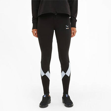 PUMA International Women's Leggings, Puma Black, small-GBR