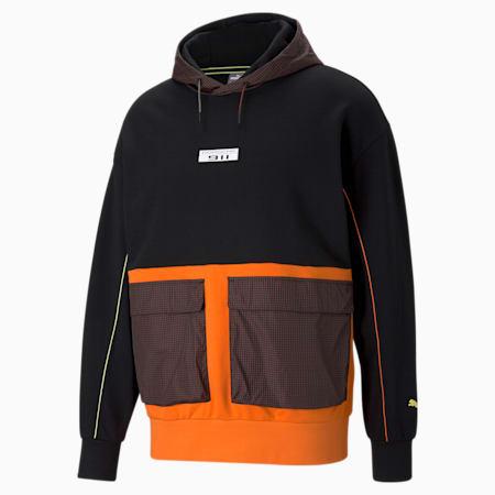 Porsche Legacy Statement hoodie heren, Puma Black, small