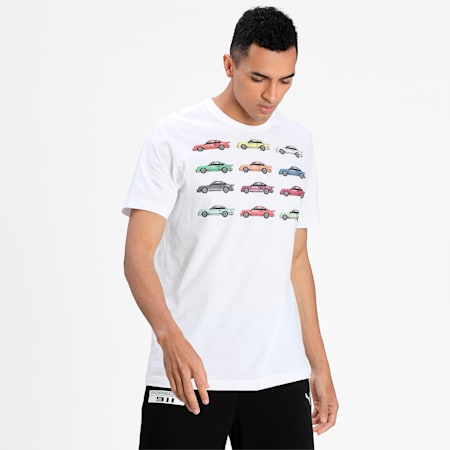 Porsche Legacy Statement Men's T-Shirt, Puma White, small-IND