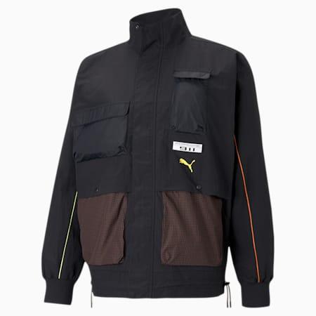 포르쉐 라이센스 스테이트먼트 자켓/PL Statement Jacket, Puma Black, small-KOR