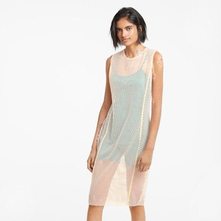 Evide Mesh Women's Dress, Cloud Pink, small