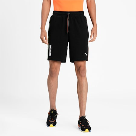 Porsche Legacy Men's Sweat Shorts, Puma Black, small-IND
