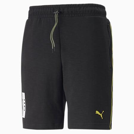 Porsche Legacy Men's Sweat Shorts, Puma Black, small