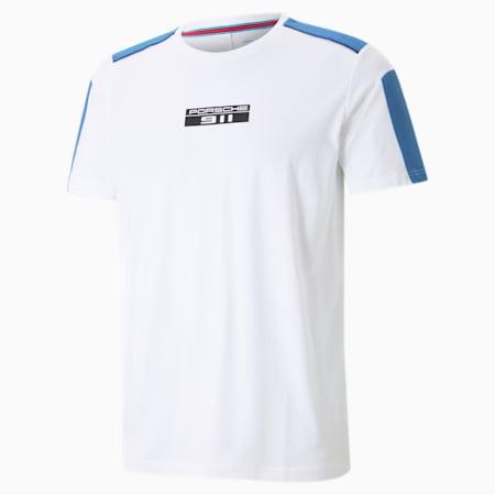 Porsche Legacy T7 Motorsport T-shirt heren, Puma White, small