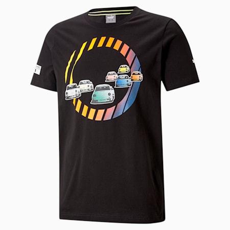 ポルシェ レガシー グラフィック Tシャツ, Puma Black, small-JPN