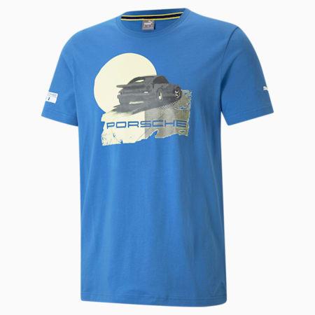 Porsche Legacy Graphic Men's  T-shirt, Star Sapphire, small-IND