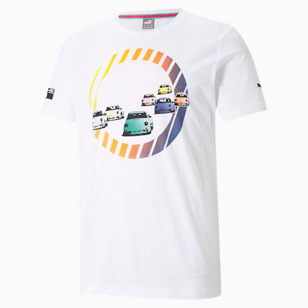 ポルシェ レガシー グラフィック Tシャツ, Puma White, small-JPN