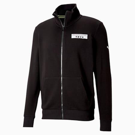 ポルシェ レガシー ベース スウェット ジャケット, Puma Black, small-JPN