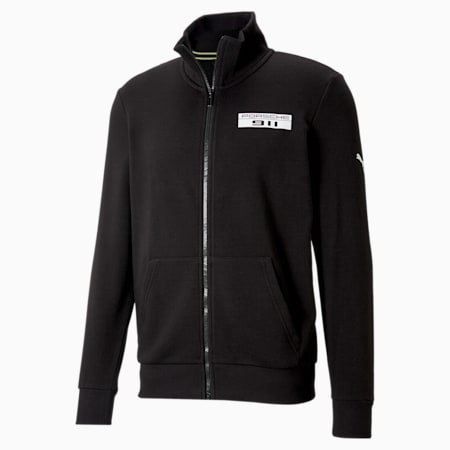 Porsche Legacy Men's Jacket, Puma Black, small-SEA