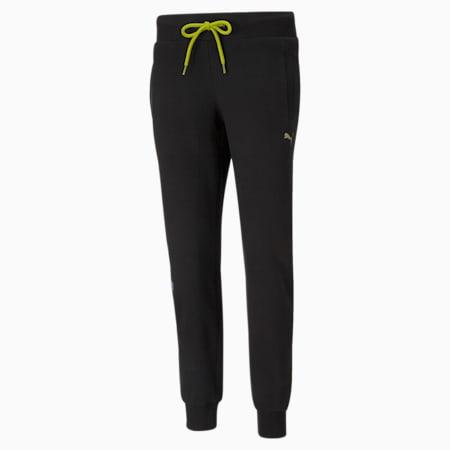 Pantalon de survêtement en tricot Evide, femme, Puma Black, petit