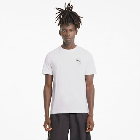 Avenir Men's Tee, Puma White-Puma Black, small-SEA