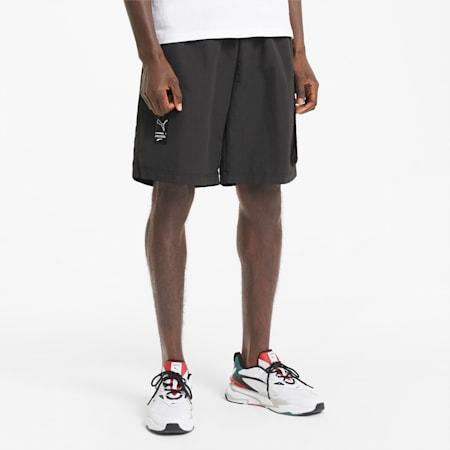 Avenir Men's Cargo Shorts, Puma Black, small-GBR