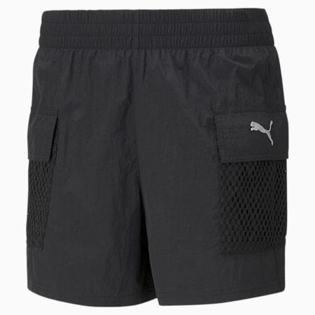 Evide Woven Women's Shorts, Puma Black, small-SEA