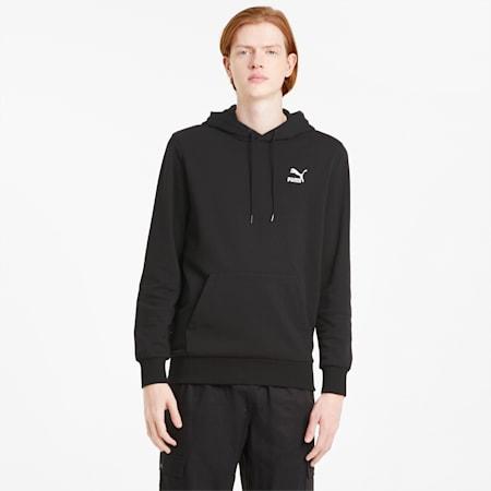 Classics Men's Embroidered Hoodie, Puma Black, small-SEA