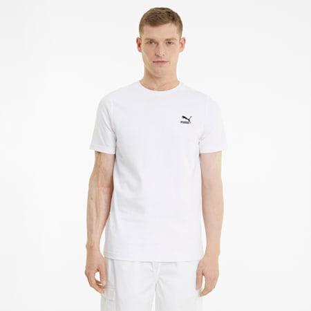 Classics Embro T-shirt heren, Puma White, small