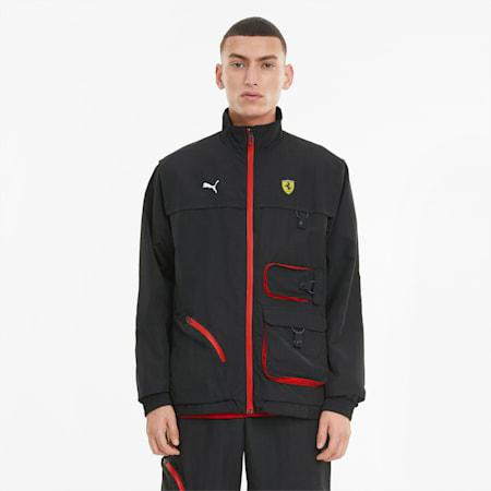 Scuderia Ferrari Statement Men's Jacket, Puma Black, small
