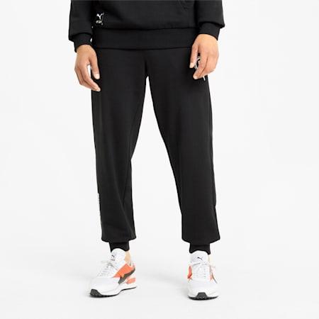 PUMA International Men's Track Pants, Puma Black, small-SEA