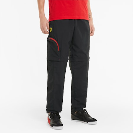 Pantalones Scuderia Ferrari Statement para hombre, Puma Black, small