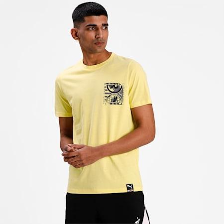 Camiseta PUMA INTLpara hombre, Celandine, pequeño