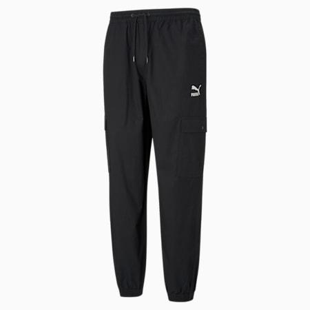 Jogging encroisé de coton Classics, homme, Puma Black, petit