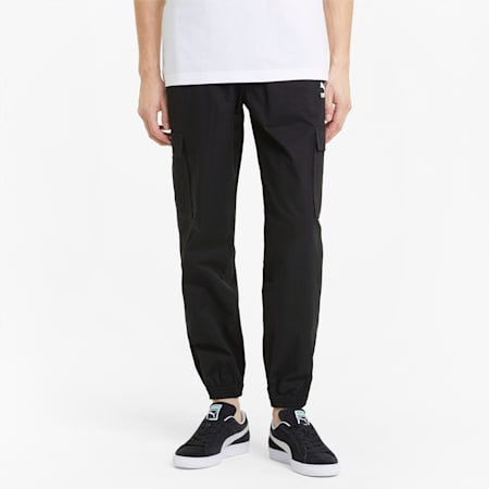 Classics Men's Cotton Twill Joggers, Puma Black, small-GBR