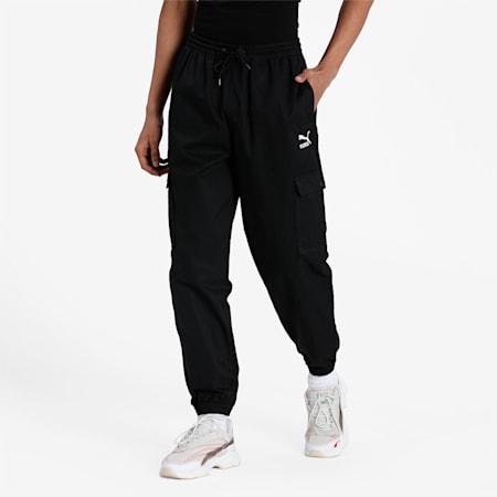 Classics Cotton Twill Men's Sweatpants, Puma Black, small-IND