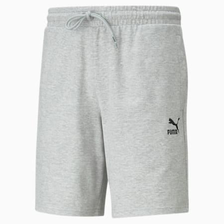Classics Logo Men's Shorts, Light Gray Heather, small