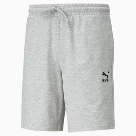 Classics Logo Men's Shorts, Light Gray Heather, small-GBR