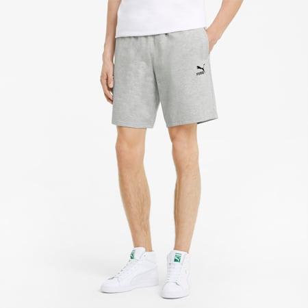 Classics Herren Shorts mit Logoprint, Light Gray Heather, small