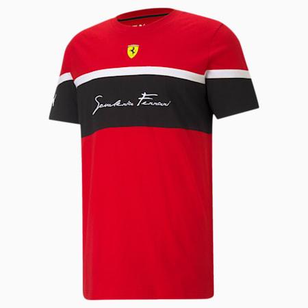 Scuderia Ferrari Race Men's Tee, Rosso Corsa, small-GBR