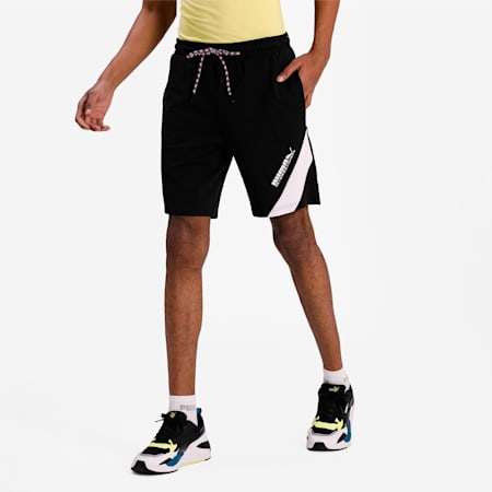 PUMA International Baby Terry Men's Shorts, Puma Black, small-IND