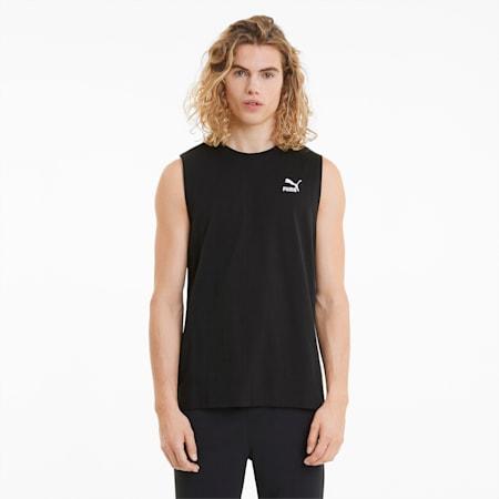 Męski T-shirt bez rękawów Classics Embro, Puma Black, small