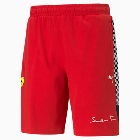 Short molletonné Scuderia Ferrari XTG, homme, Rosso corsa, petit