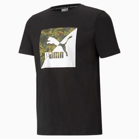 Classics Graphic Men's  T-shirt, Puma Black, small-IND