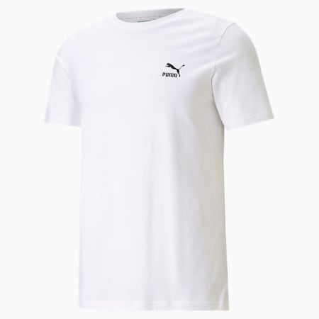 클래식스 그래픽스 인필 티/Classics Graphics Infill Tee, Puma White-Puma Black, small-KOR