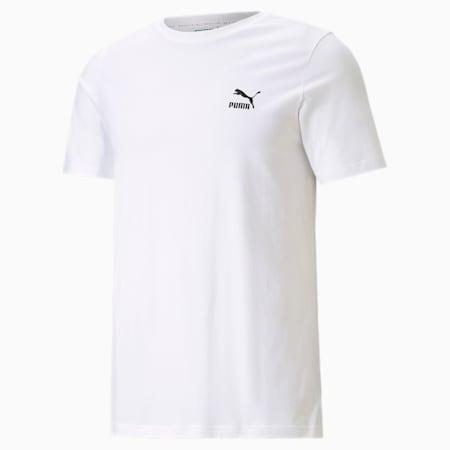 Camiseta estampada Classicspara hombre, Puma White-Puma Black, pequeño