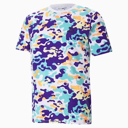 CLASSICS グラフィックス AOP Tシャツ, Puma White-AOP, small-JPN
