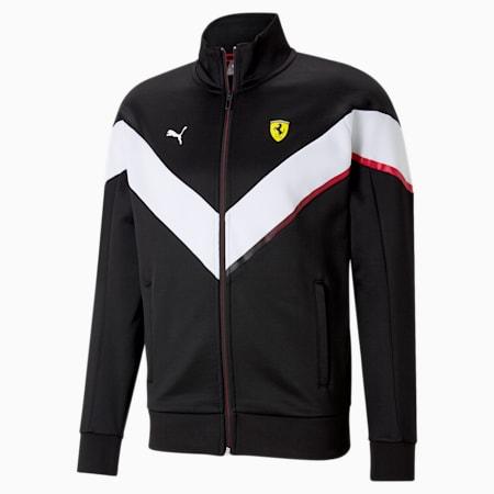 Scuderia Ferrari MCS Men's Track Jacket, Puma Black, small-IND