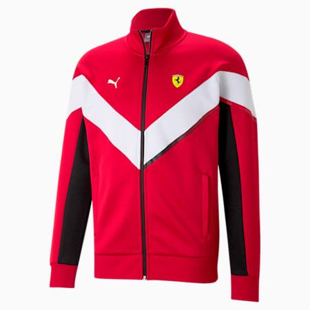 Scuderia Ferrari MCS Men's Track Jacket, Rosso Corsa, small