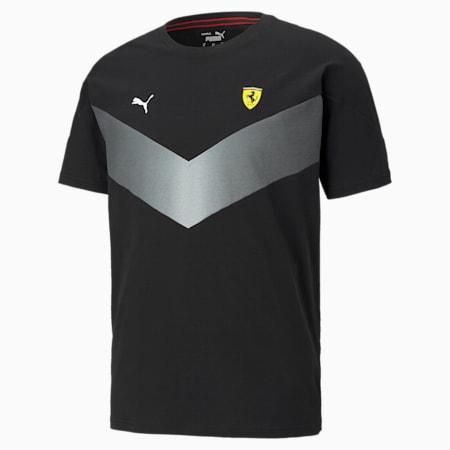 Scuderia Ferrari MCS Men's Tee, Puma Black, small-GBR