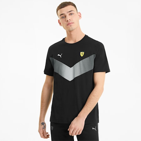 Scuderia Ferrari MCS Men's Tee, Puma Black, small