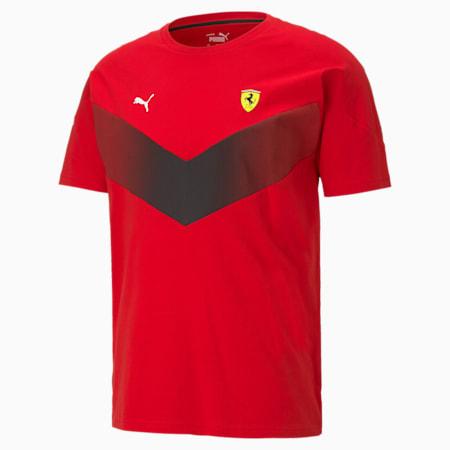 Scuderia Ferrari MCS Men's Tee, Rosso Corsa, small-GBR