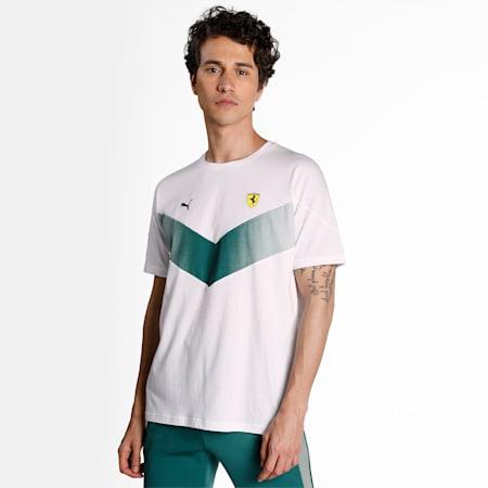 Scuderia Ferrari MCS Men's  T-shirt, Puma White, small-IND