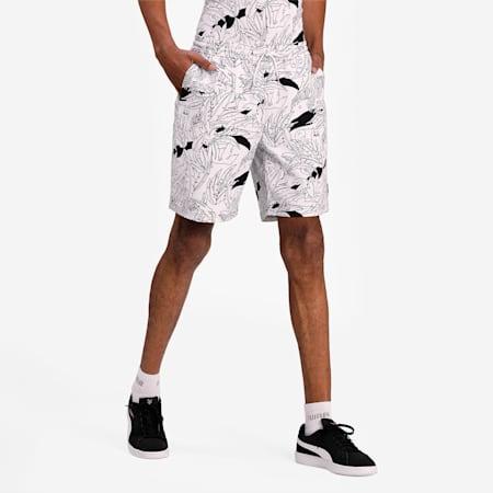 Classics Graphic Men's Shorts, Puma White, small-IND