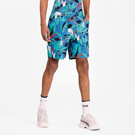 Classics Graphic Men's Shorts, Star Sapphire, small-IND