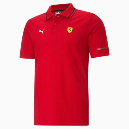 Scuderia Ferrari Race Men's Polo Shirt, Rosso Corsa, small-IND