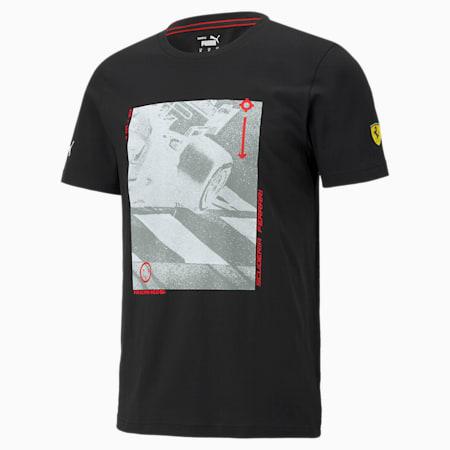 T-shirt à graphique Scuderia Ferrari Race, homme, Puma Black, petit