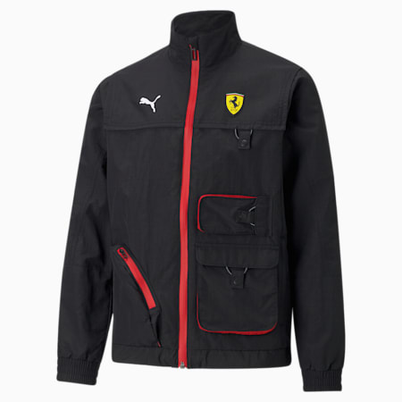 Scuderia Ferrari Youth Street Racing Jacket Puma Black Puma Shoes Puma Germany